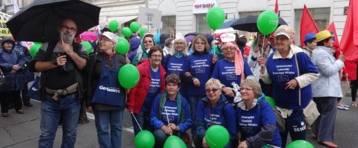 Parada seniorów – z Lubonia do Warszawy