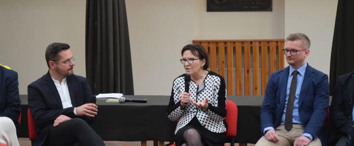 Wykład byłej pani premier Ewy Kopacz – fotorelacja