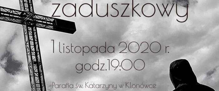 1.11.2020 o godz. 19:00 na naszej stronie koncert zaduszkowy dla ULTW – on-line